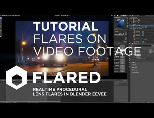 Lens Flare On Video Footage