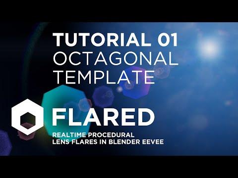 Lens Flare Octagonal