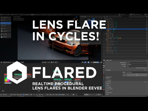 Lens Flare in Cycles