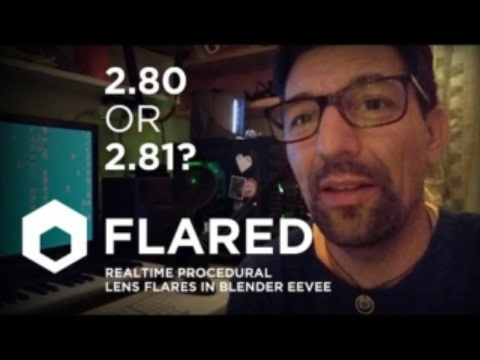 Lens Flare Addon Blender