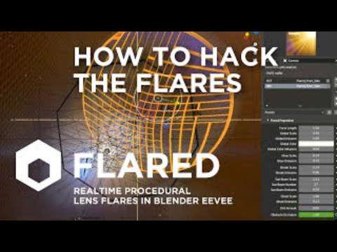 Modify Lens Flare