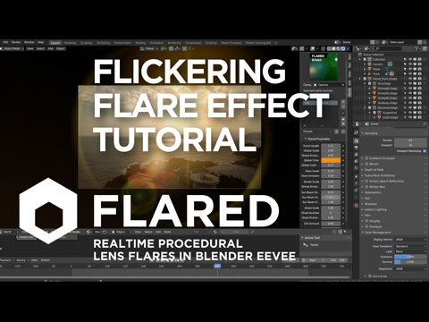 Flickering Lens Flare Tutorial