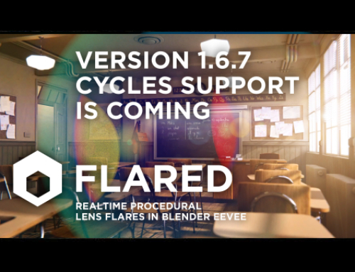 Flared 1.6.7 beta: Cycles support