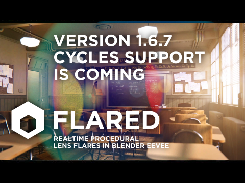 cycles lens flare