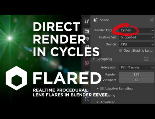 Next Upgrade: Direct Render in Cycles