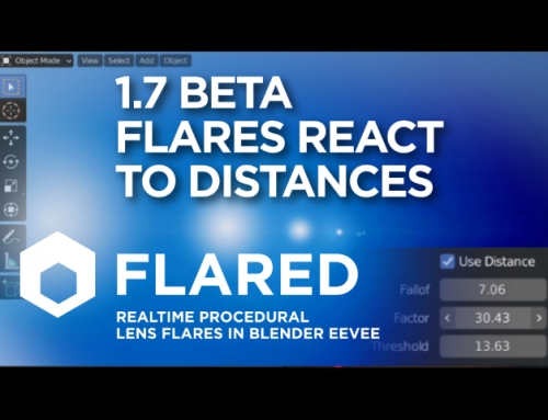 New Flared 1.7 Beta introduces the distances control
